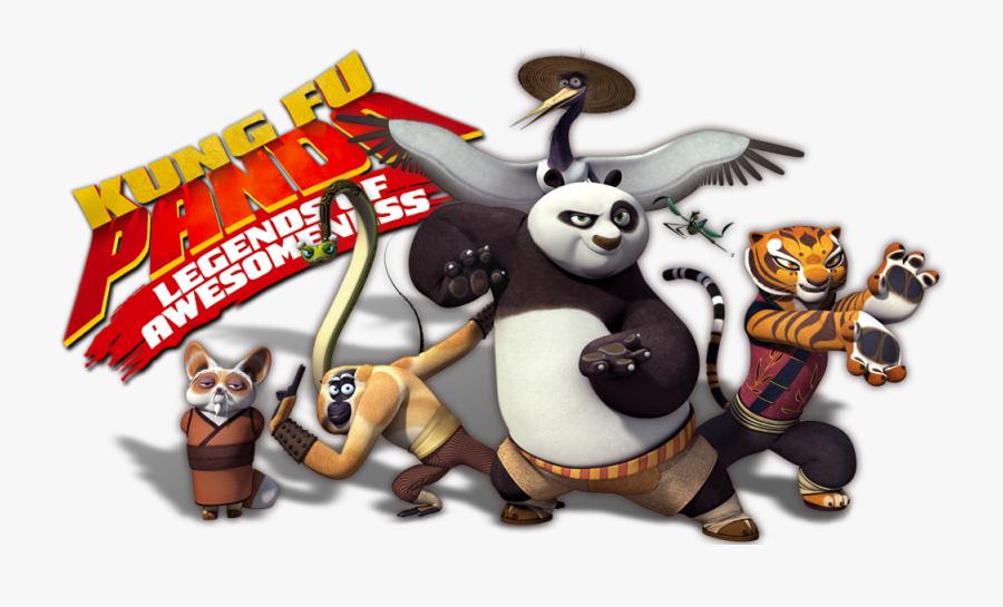 Transparent Tv Clipart - Kung Fu Panda Serie, Transparent Clipart