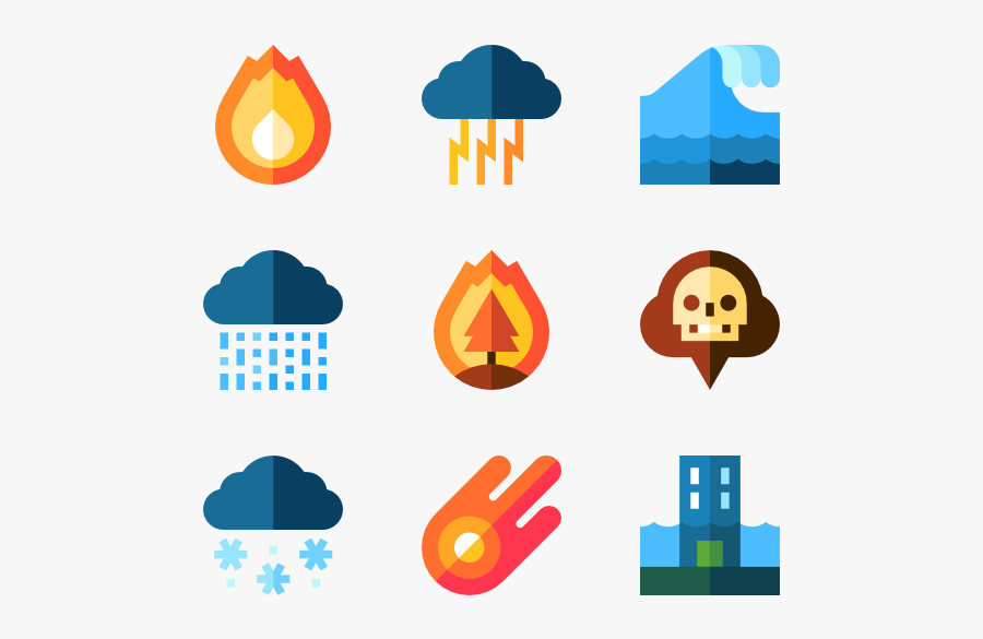 Natural Disaster - Natural Disaster Icon Png, Transparent Clipart