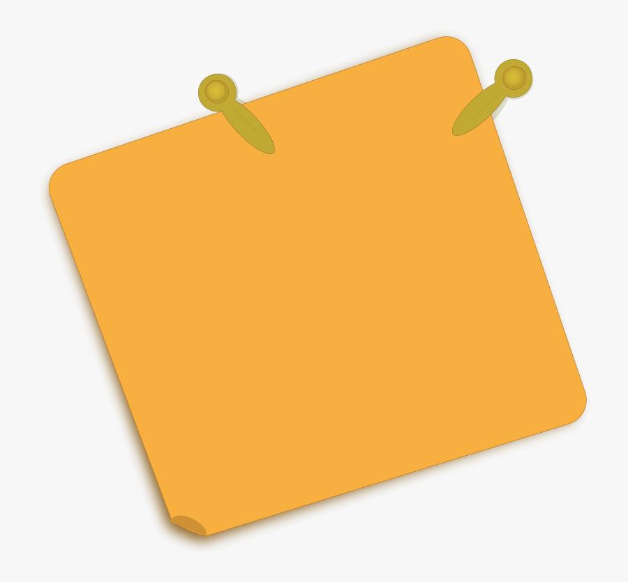 Note Paper - Paper Notes Clipart Png, Transparent Clipart
