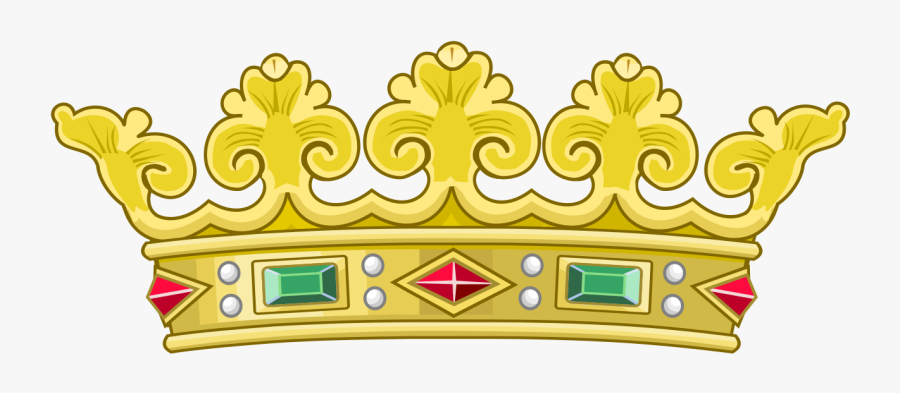 Heraldic Royal Crown Of Portugal - Coat Of Arms Of Manila, Transparent Clipart