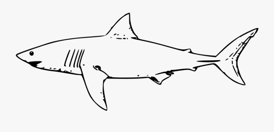 Great White Shark Clipart, Transparent Clipart