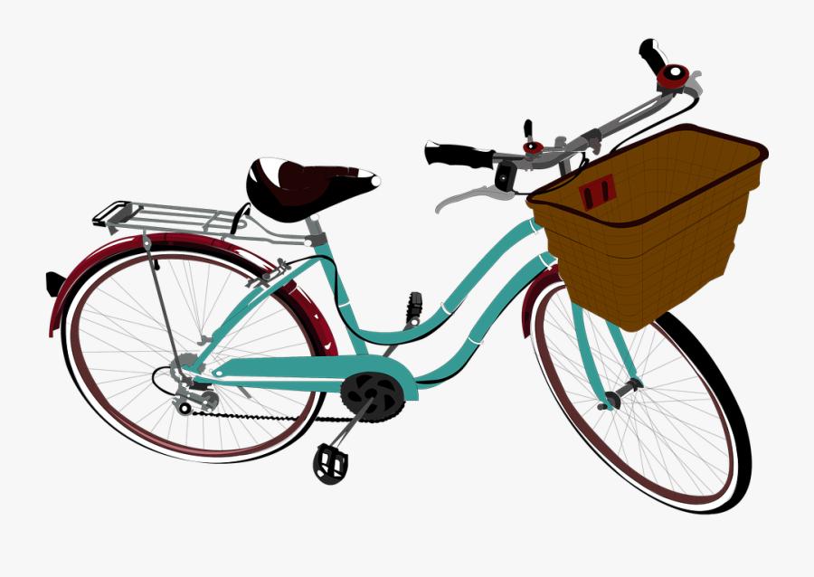 Gambar Vektor Sepeda, Transparent Clipart