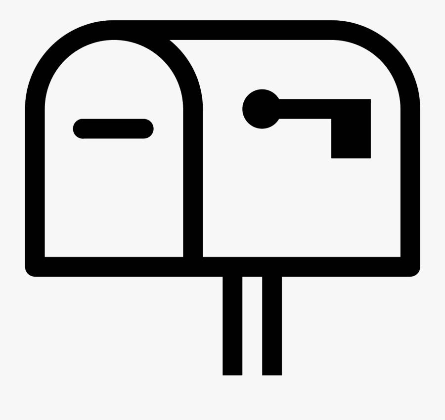Transparent Mailbox Clipart - Mailbox Icon, Transparent Clipart