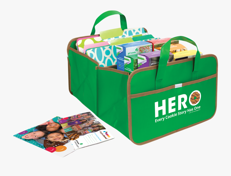 Troops That Sell $2500 Will Earn 2 Cookie Hero Trunk - Bag, Transparent Clipart