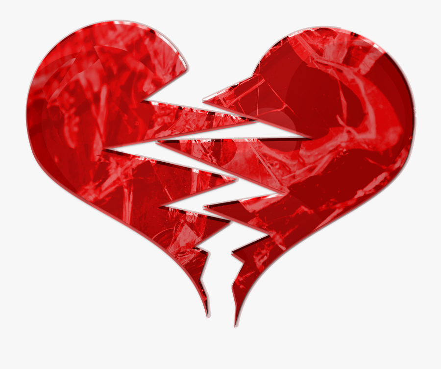 Heart With Wings Png -download Broken Heart Icon - Broken Heart, Transparent Clipart