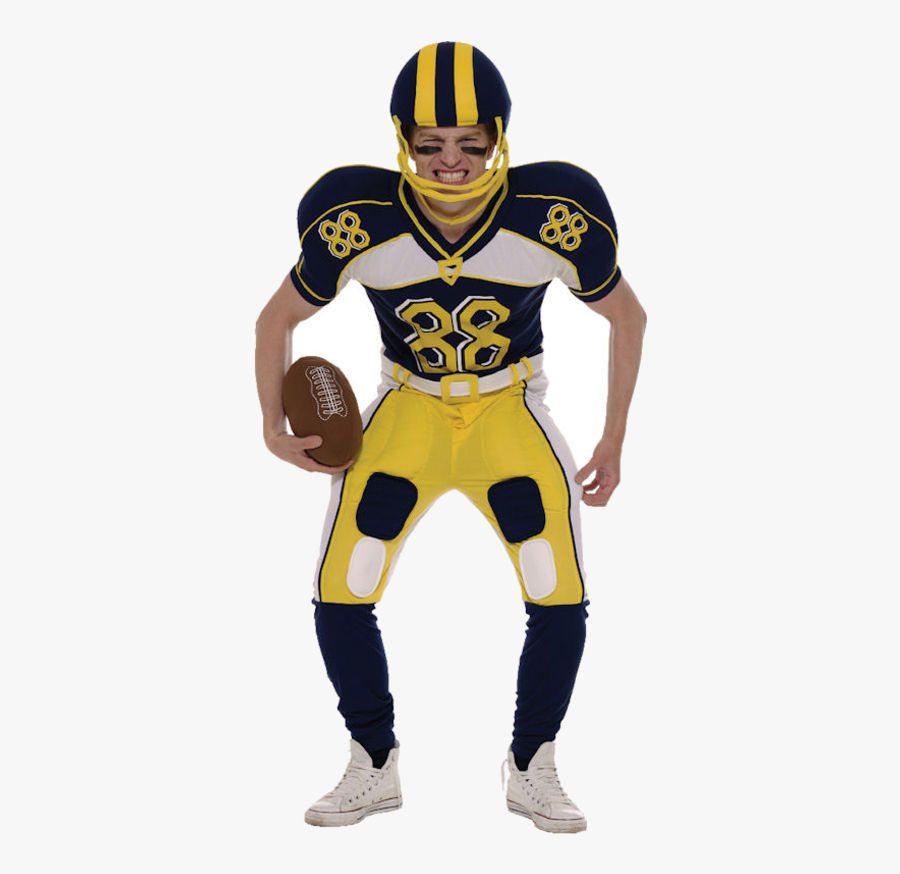 Transparent Football Player Clipart - American Football Dress Up, Transparent Clipart