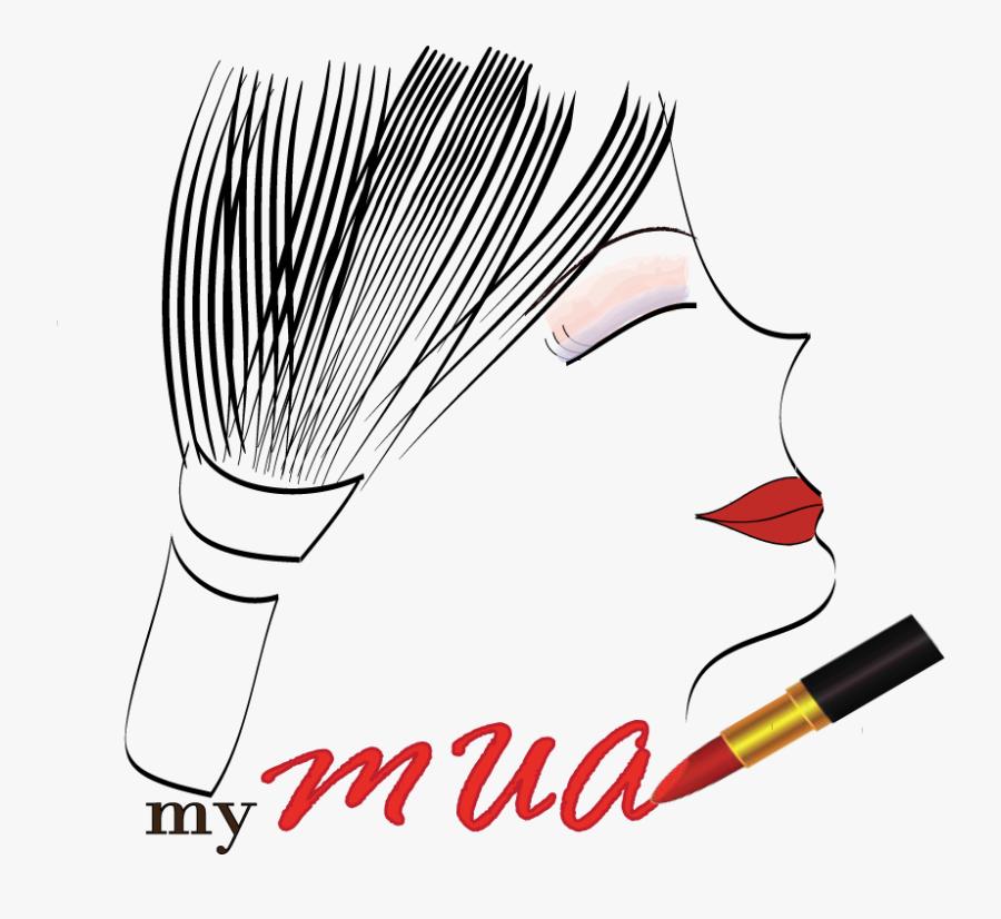 Makeup Artist Logo Design Png , Transparent Cartoons - Transparent Makeup Logo, Transparent Clipart