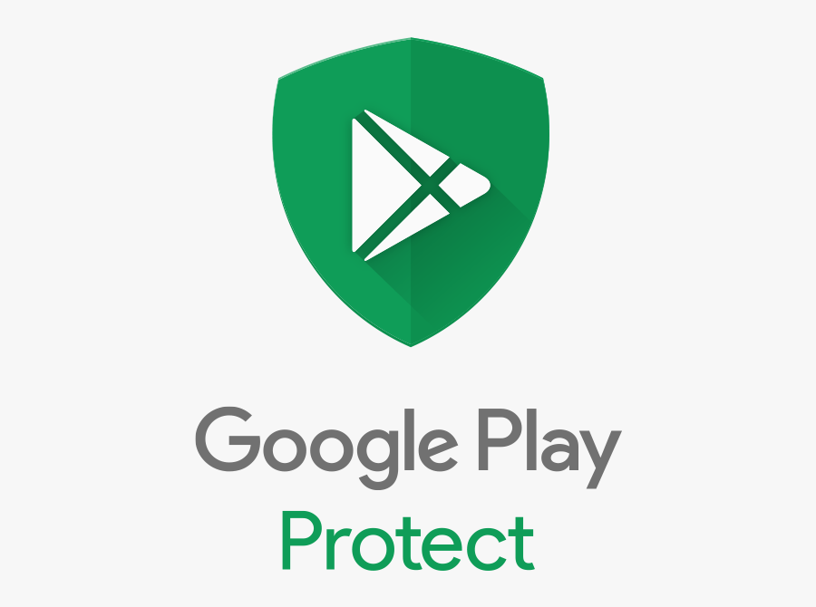 Android Play Protect Bringing - Google Play Protect Logo, Transparent Clipart