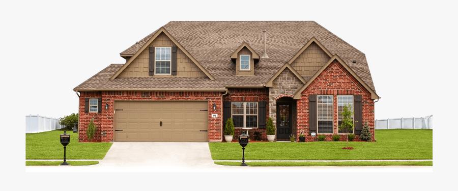 Transparent House For Sale Png - Red Brick House Color Scheme, Transparent Clipart