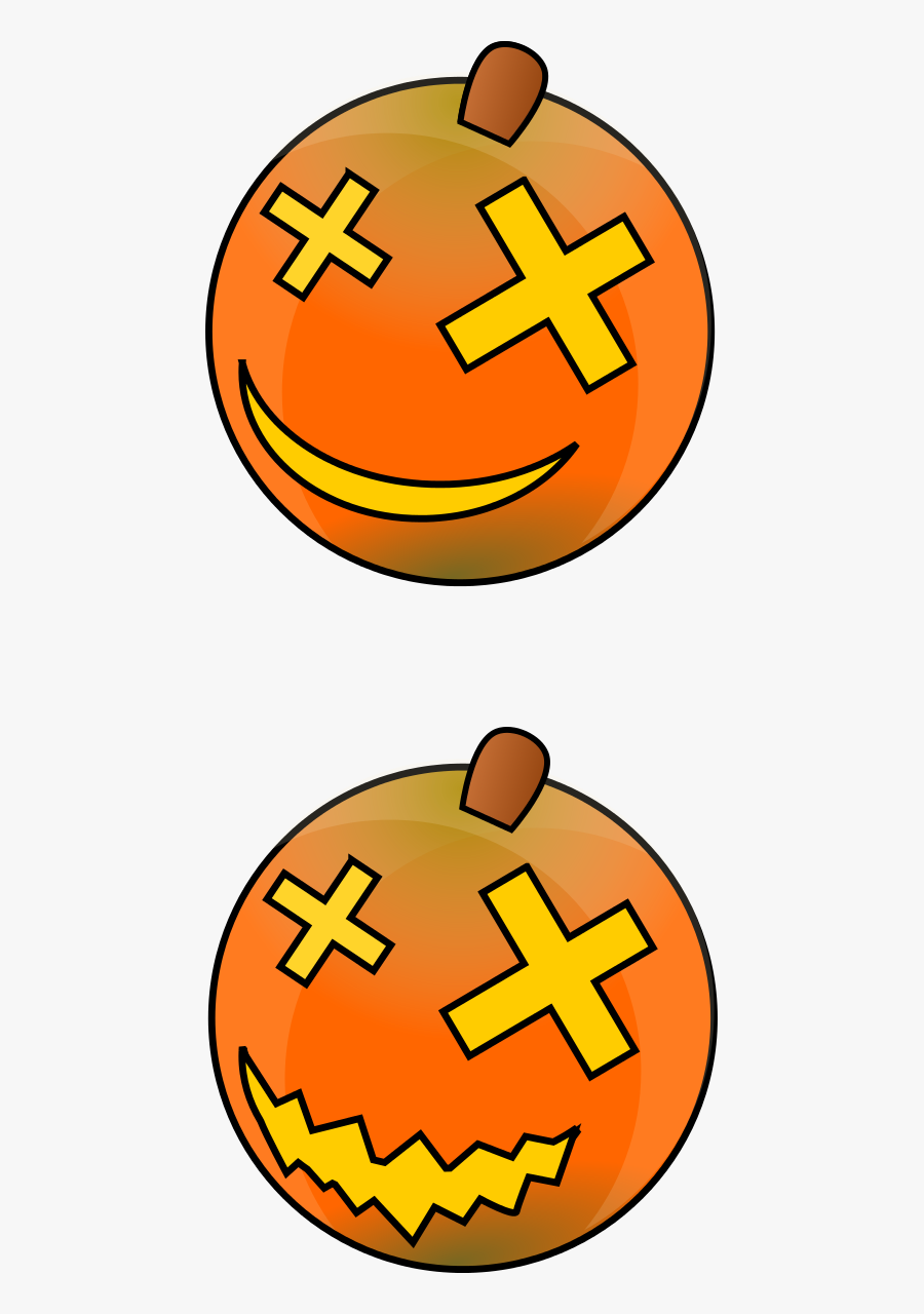 Pumpkins Clipart By Dcook - Jack-o'-lantern, Transparent Clipart