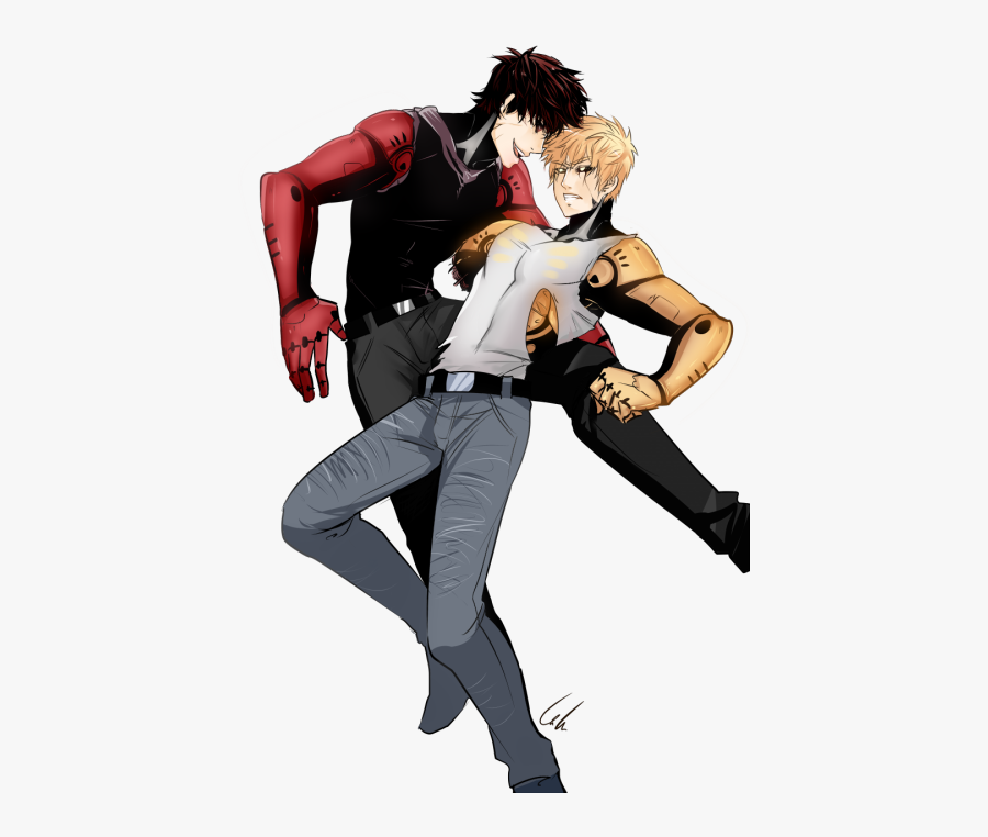 One Punch Man Clipart Pan - One Punch Man Characters Genos, Transparent Clipart