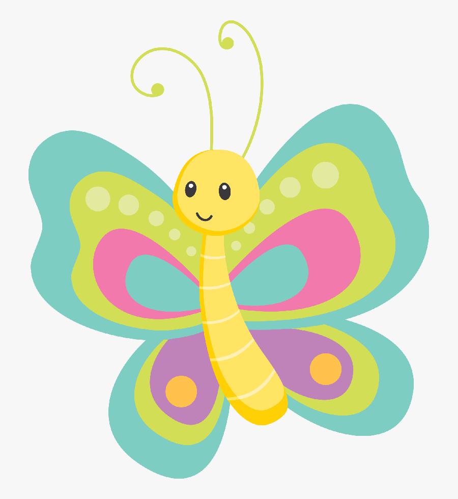 Transparent Nikolaus Clipart - Cute Butterfly Clipart, Transparent Clipart