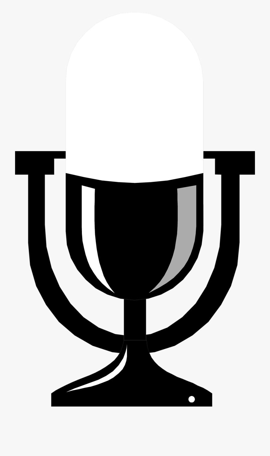 10 4 Cb Radio - Radio Microphone Clip Art, Transparent Clipart