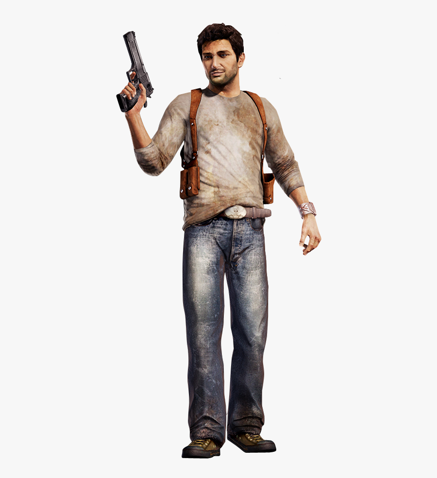 Nathan Drake Uncharted Drake's Fortune, Transparent Clipart