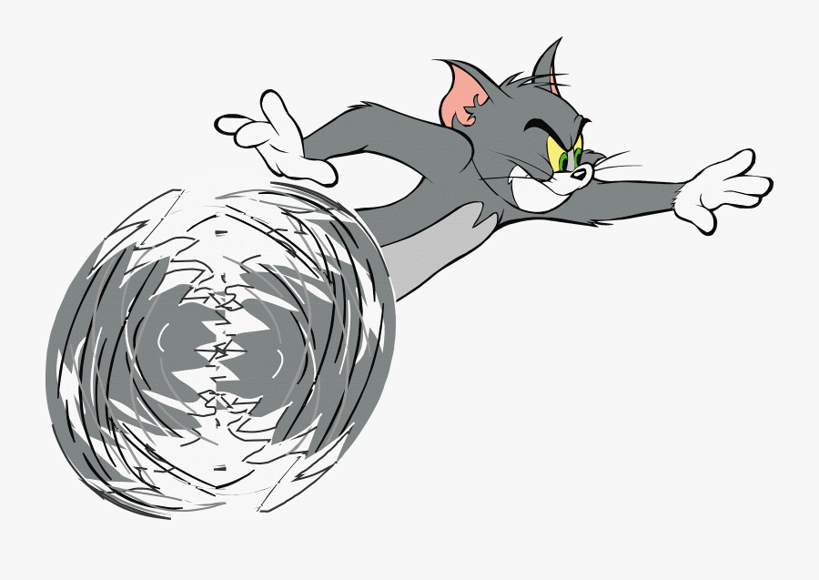 Transparent Tom And Jerry Png - Tom The Cat Running , Free ... (900 x 637 Pixel)