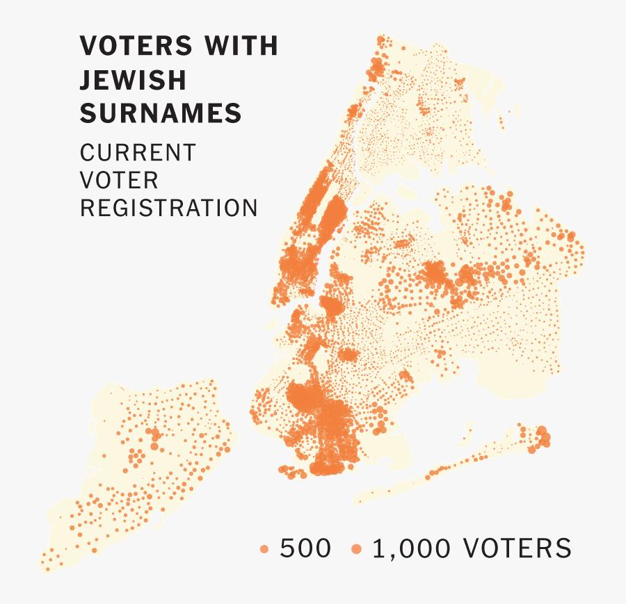 Irish In New York Map, Transparent Clipart