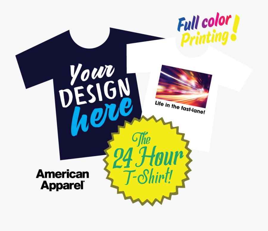 Samedaytshirts - American Apparel, Transparent Clipart