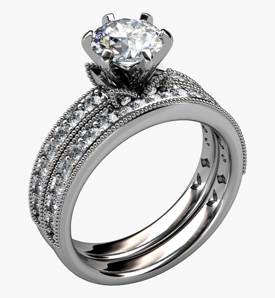 Inexpensive Wedding Rings - Diamond Rings Png, Transparent Clipart