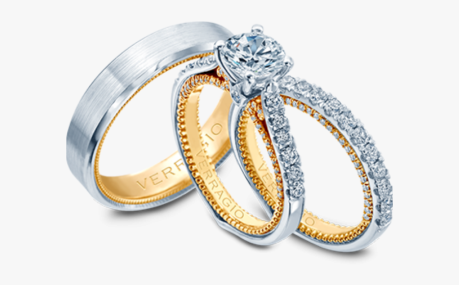 Wedding Rings Pictures Images - New Engagement Rings Set, Transparent Clipart