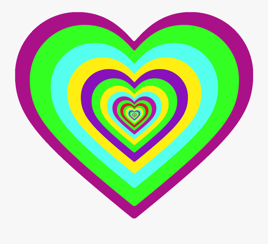 I Love You Hearts Sticker - Heart's I Love You, Transparent Clipart