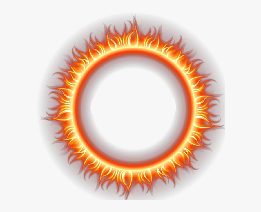 Fire Flame Png Download Free Clipart - Transparent Fire Circle Png, Transparent Clipart
