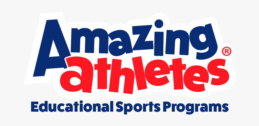 Amazing Athletes Logo, Transparent Clipart