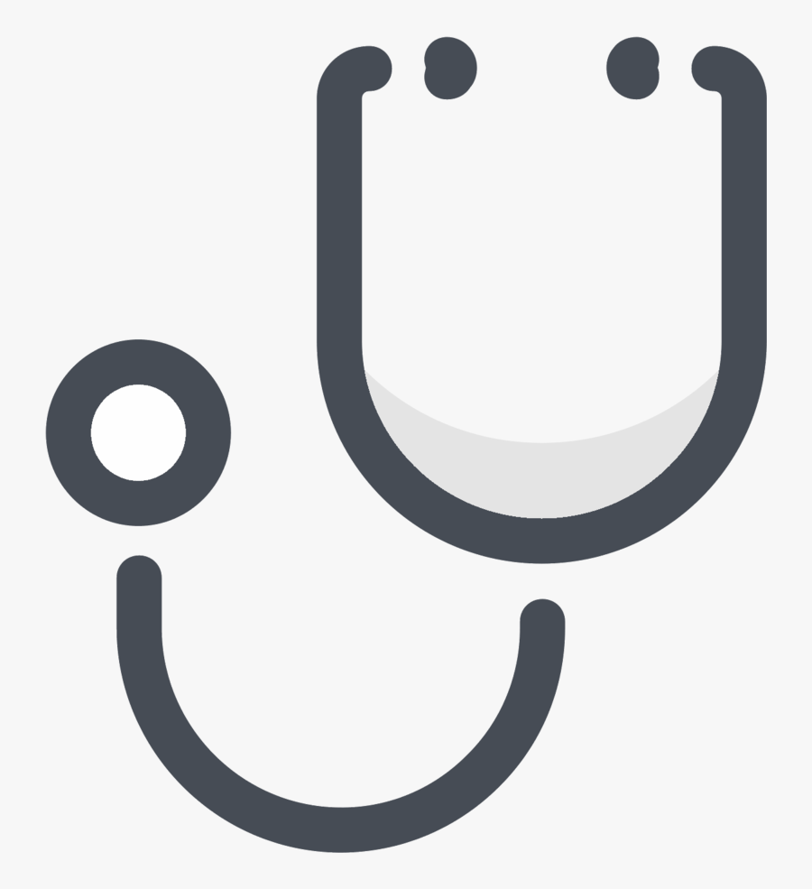 Stethoscope Png Color Icon, Transparent Clipart