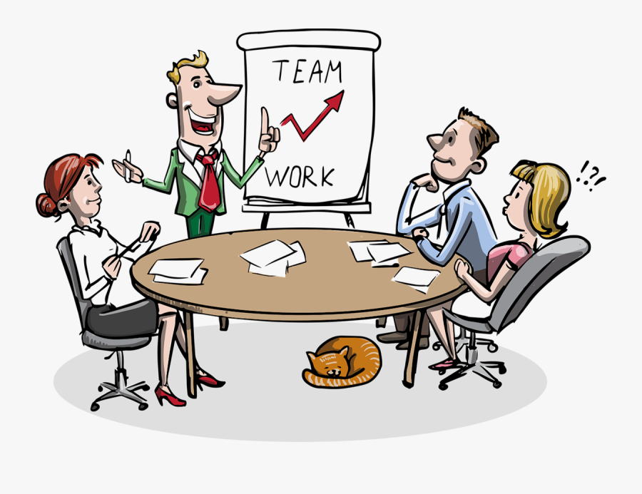 Luncheon Clipart Staff Recognition - Team Working Skills, Transparent Clipart
