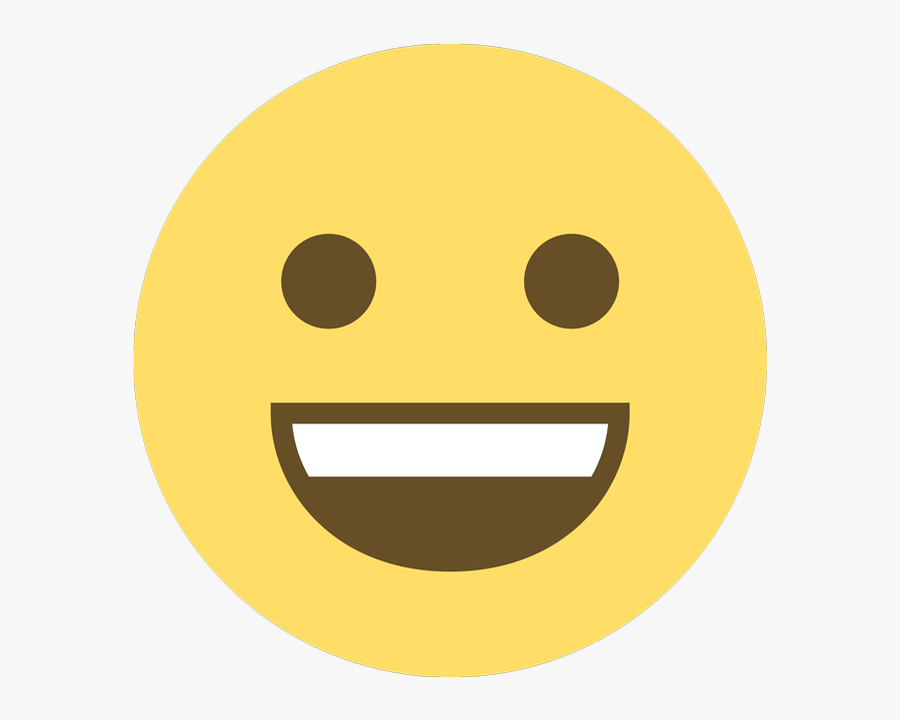How To Get Emoji On Android Tech Advisor - Smiling Face With Open Mouth And Smiling Eyes, Transparent Clipart