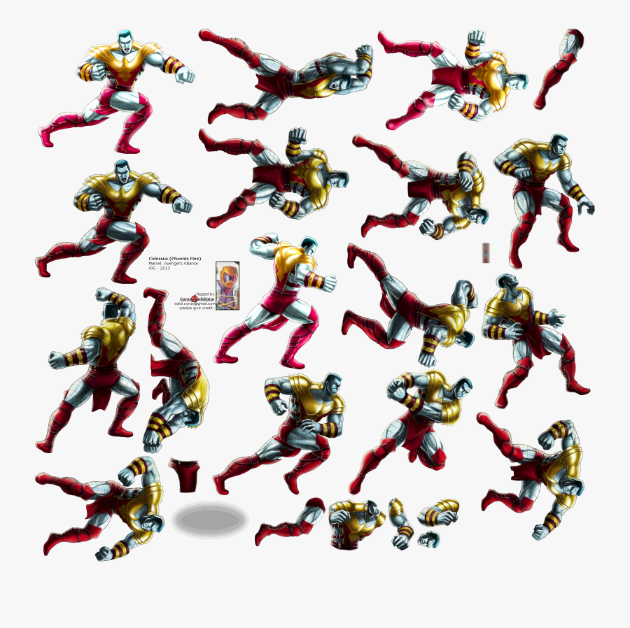 Click For Full Sized Image Colossus - Colossus Sprite, Transparent Clipart