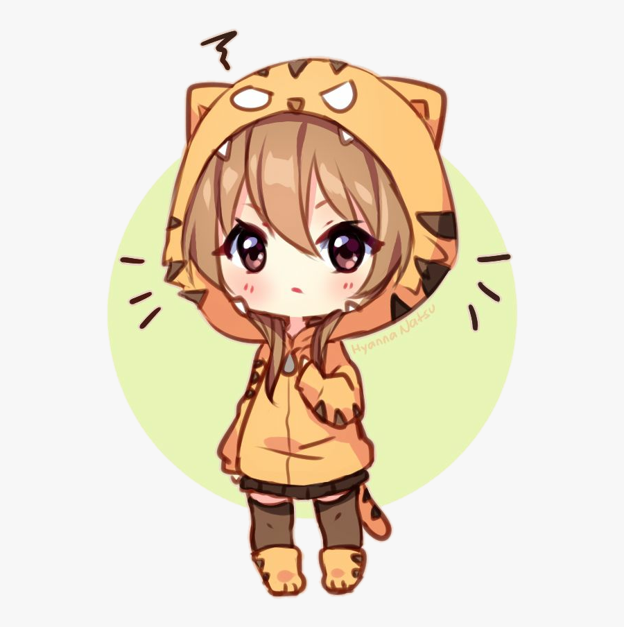 Transparent Taiga Clipart - Cute Chibi Chibi Girl, Transparent Clipart