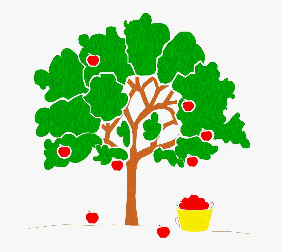Picture Of Apple Tree Free Download Clip Art Free Clip - Apple Doesn T Fall Far From The Tree Gif, Transparent Clipart