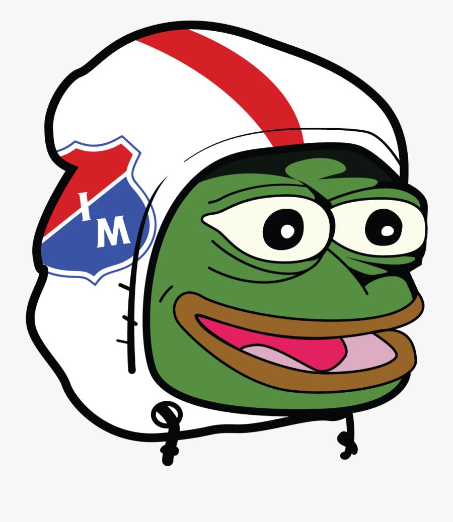 Pepe Png Happy - Ac Milan Pepe Meme, Transparent Clipart