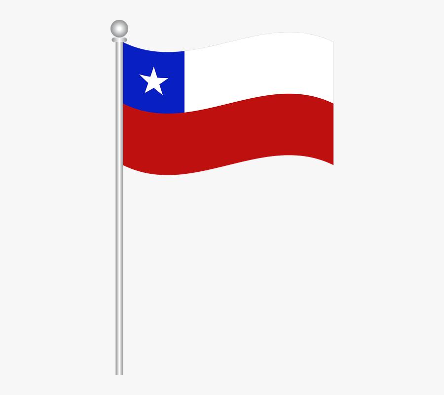 Chile Flag Png Transparent Images - Bandeira Do Chile Png, Transparent Clipart
