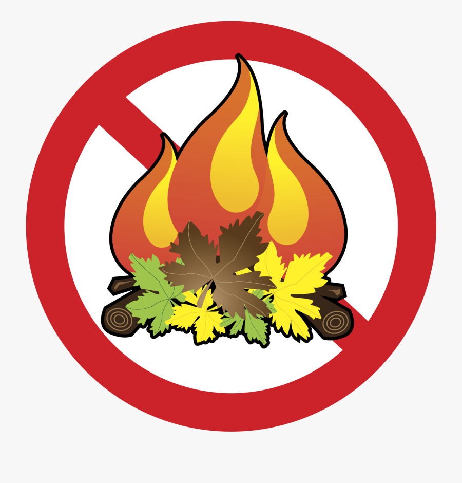 Collection Of Slash - No To Backyard Burning, Transparent Clipart