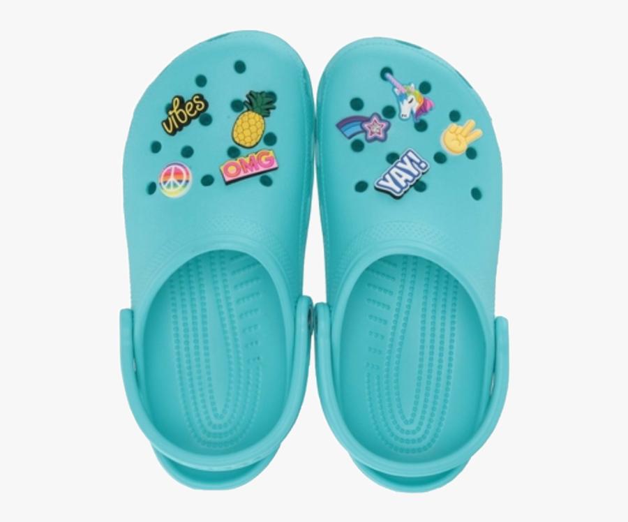 crocs #croc #freetoedit - Blue Crocs