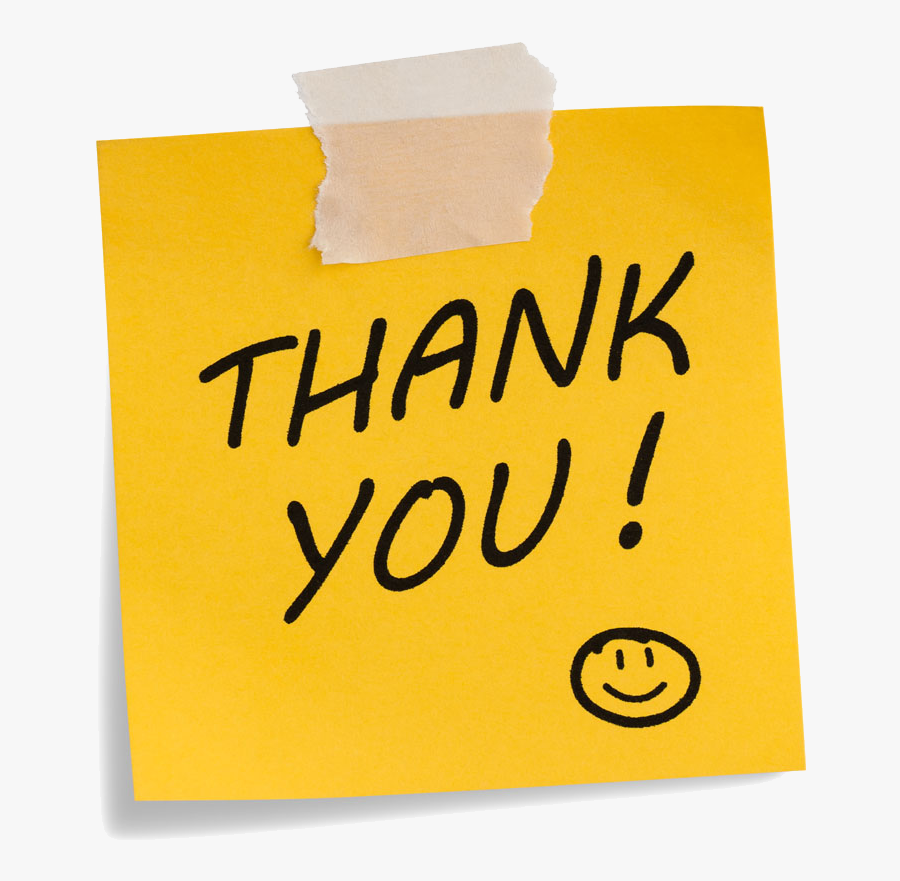 Great Thank You, Transparent Clipart
