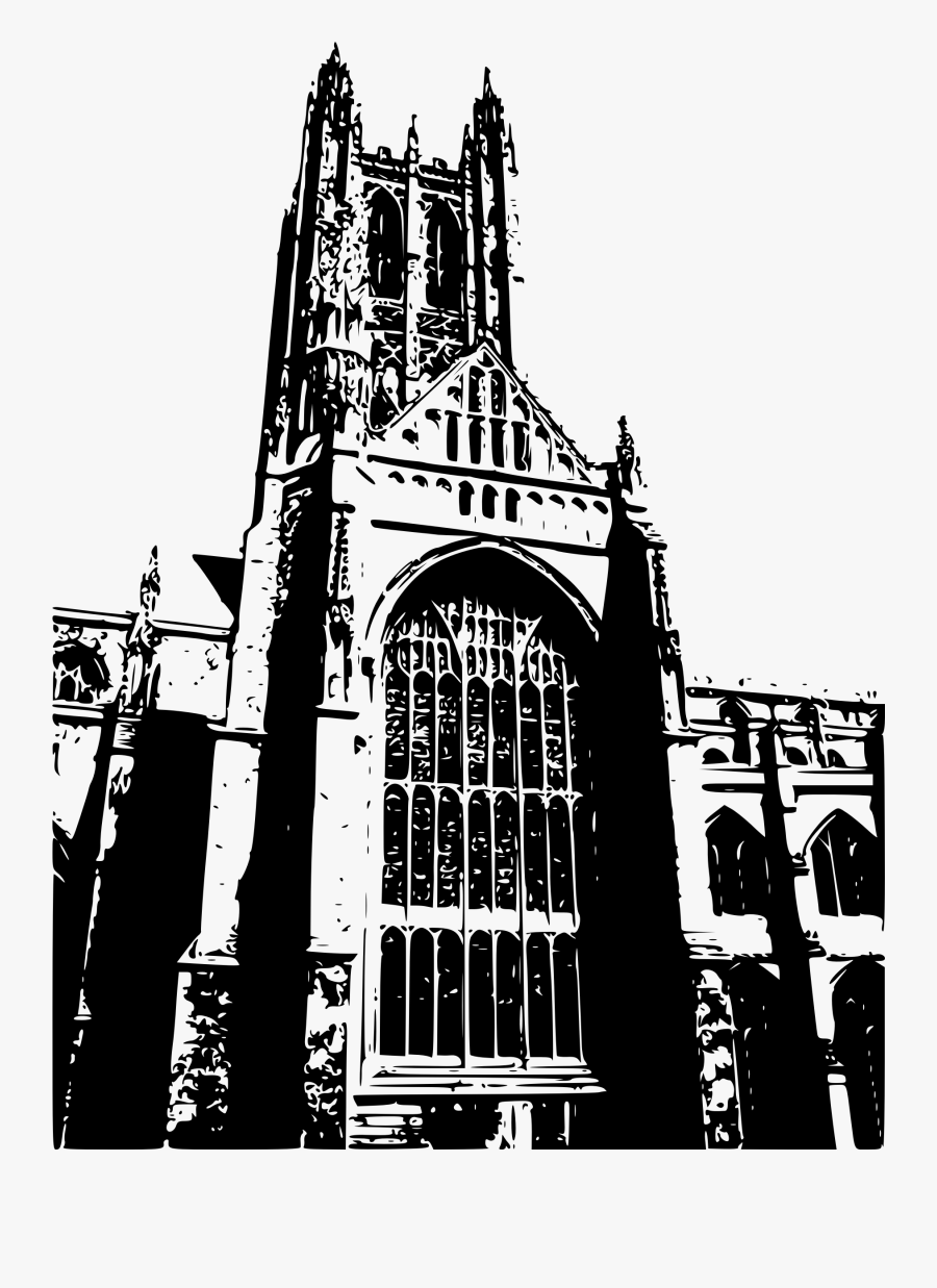 Clipart - Canterbury Cathedral Icon, Transparent Clipart