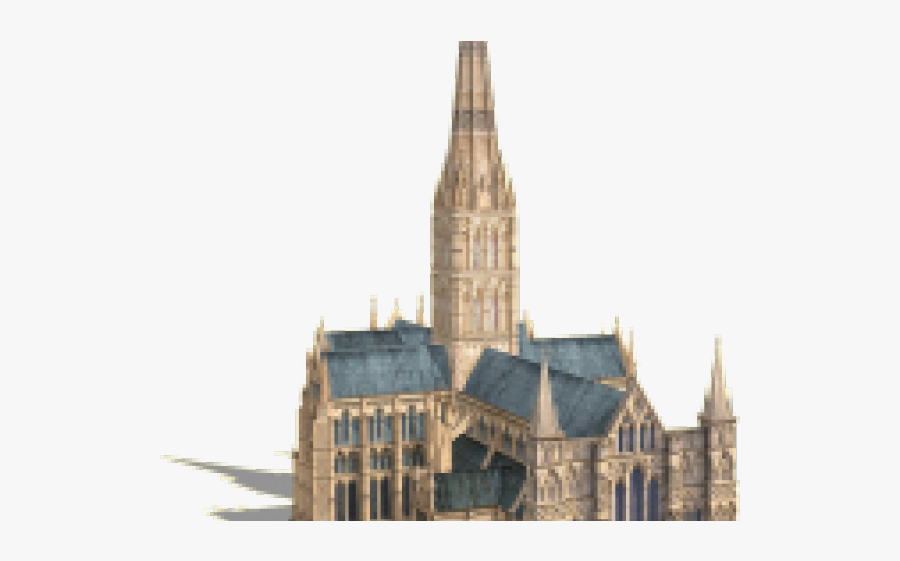 Cathedral Png Transparent Images - Salisbury Cathedral East Facade, Transparent Clipart
