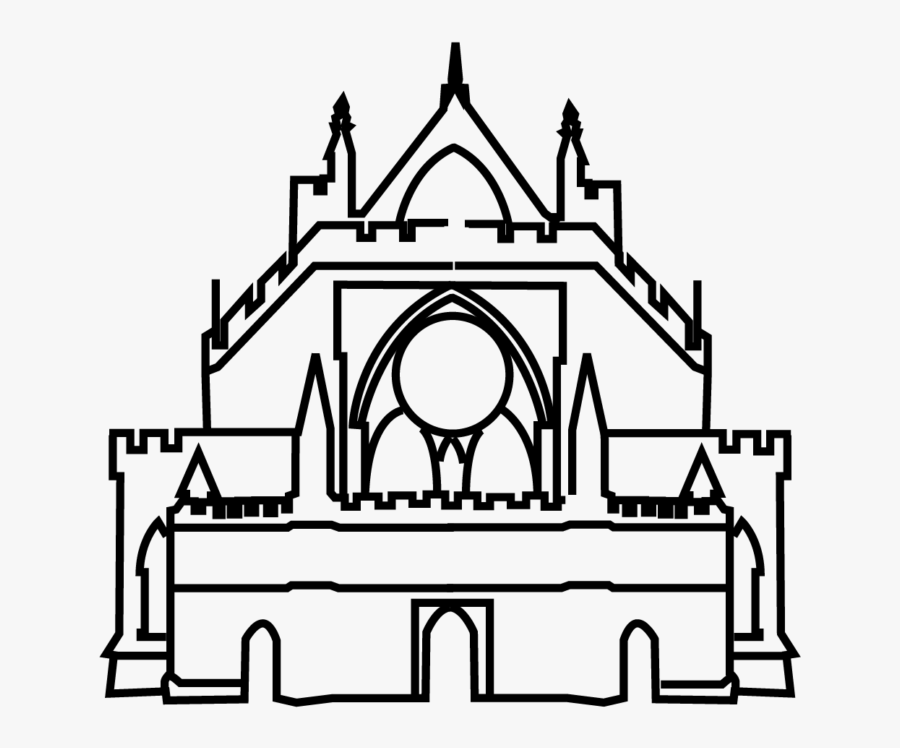 Exeter Cathedral Clipart, Transparent Clipart