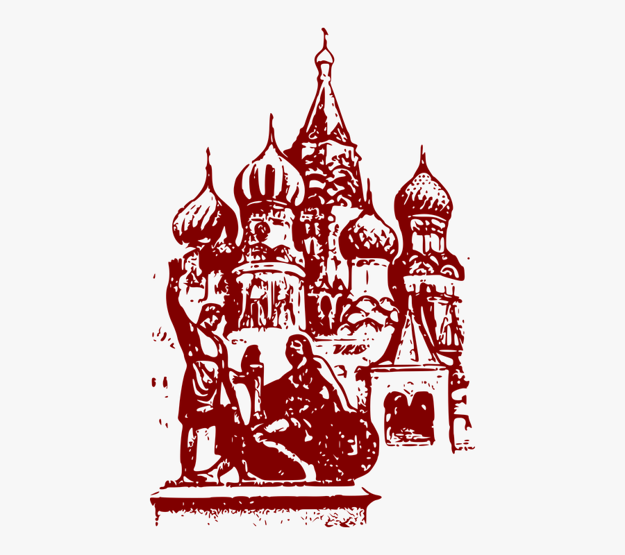 Cathedral, Country, Museum, Red Square, Russia, Symbol - St Basil's Cathedral Png, Transparent Clipart