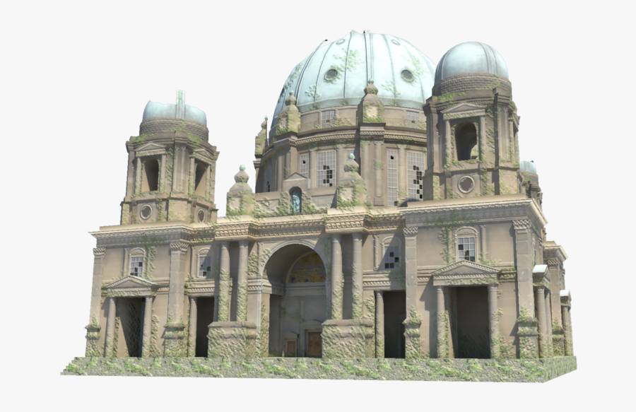 Download Cathedral Png Image - Berlin Cathedral Png, Transparent Clipart