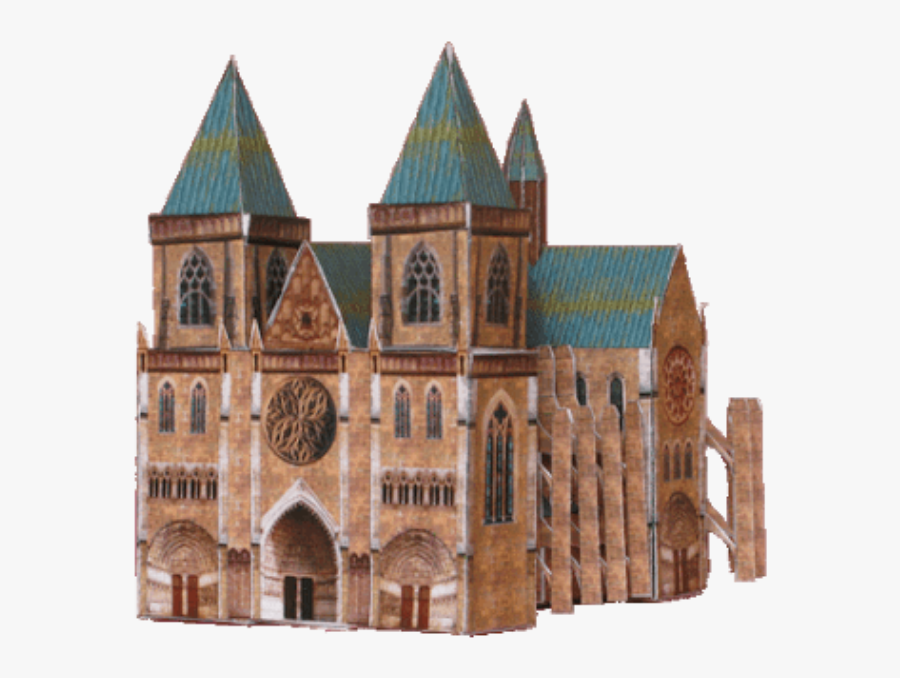 #cathedral #frenchgothic #renaissance #architecture - Gothic Cathedral, Transparent Clipart