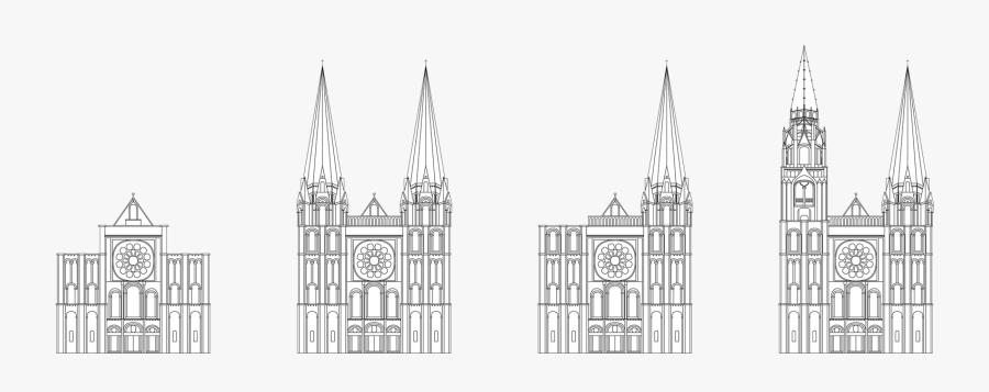 Transparent Cathedral Png - Spire, Transparent Clipart