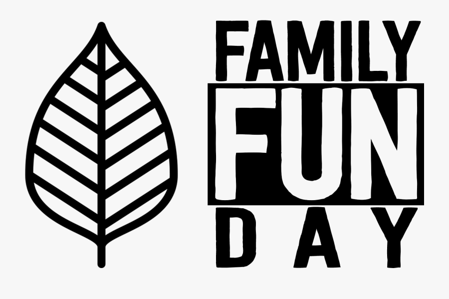 Clip Family Fun Day Black And White, Transparent Clipart