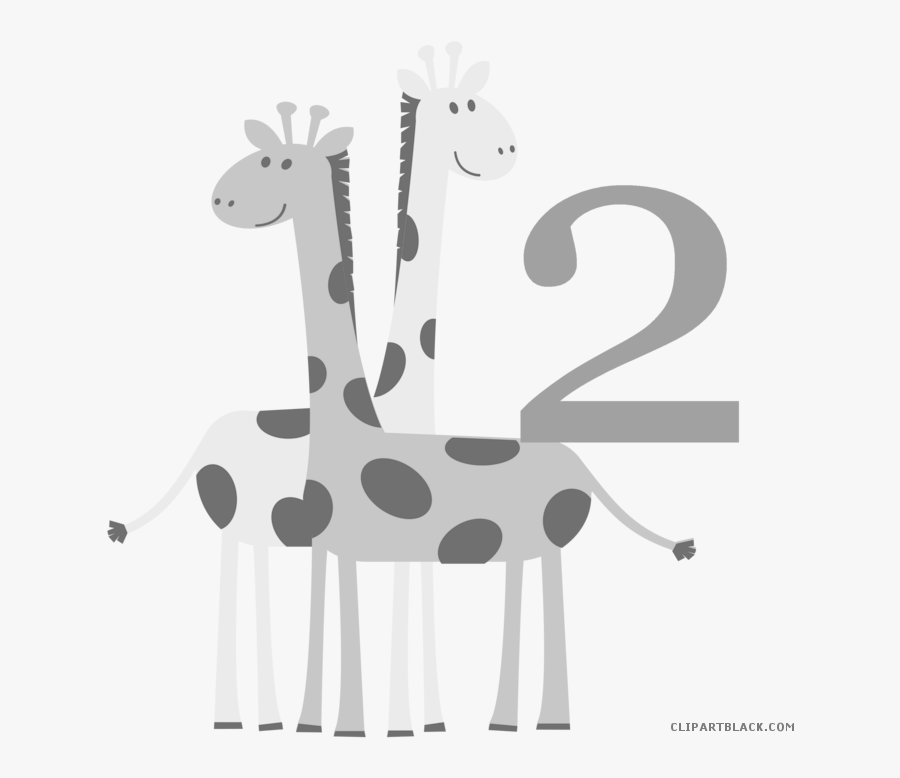 Baby Animals Animal Free Black White Clipart Images - Wishes Happy Baby Shower Day, Transparent Clipart