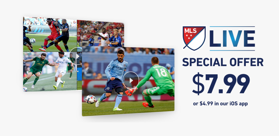 Mls Live Streaming Games - Streaming Mls, Transparent Clipart