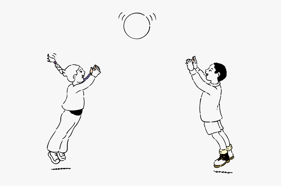 Throwing And Catching A Ball Free Transparent Clipart Clipartkey