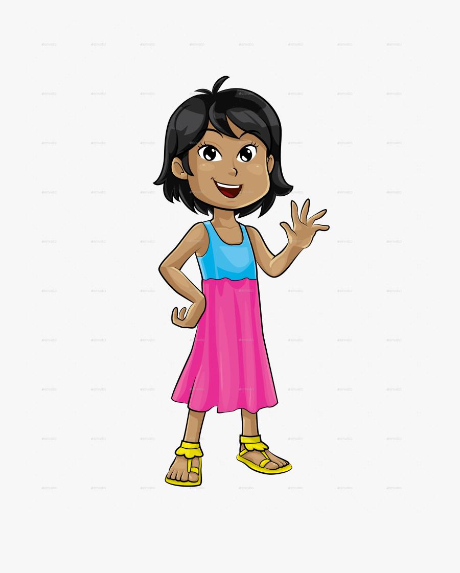 Transparent Female Dentist Clipart - Little Girl Png Transparent, Transparent Clipart
