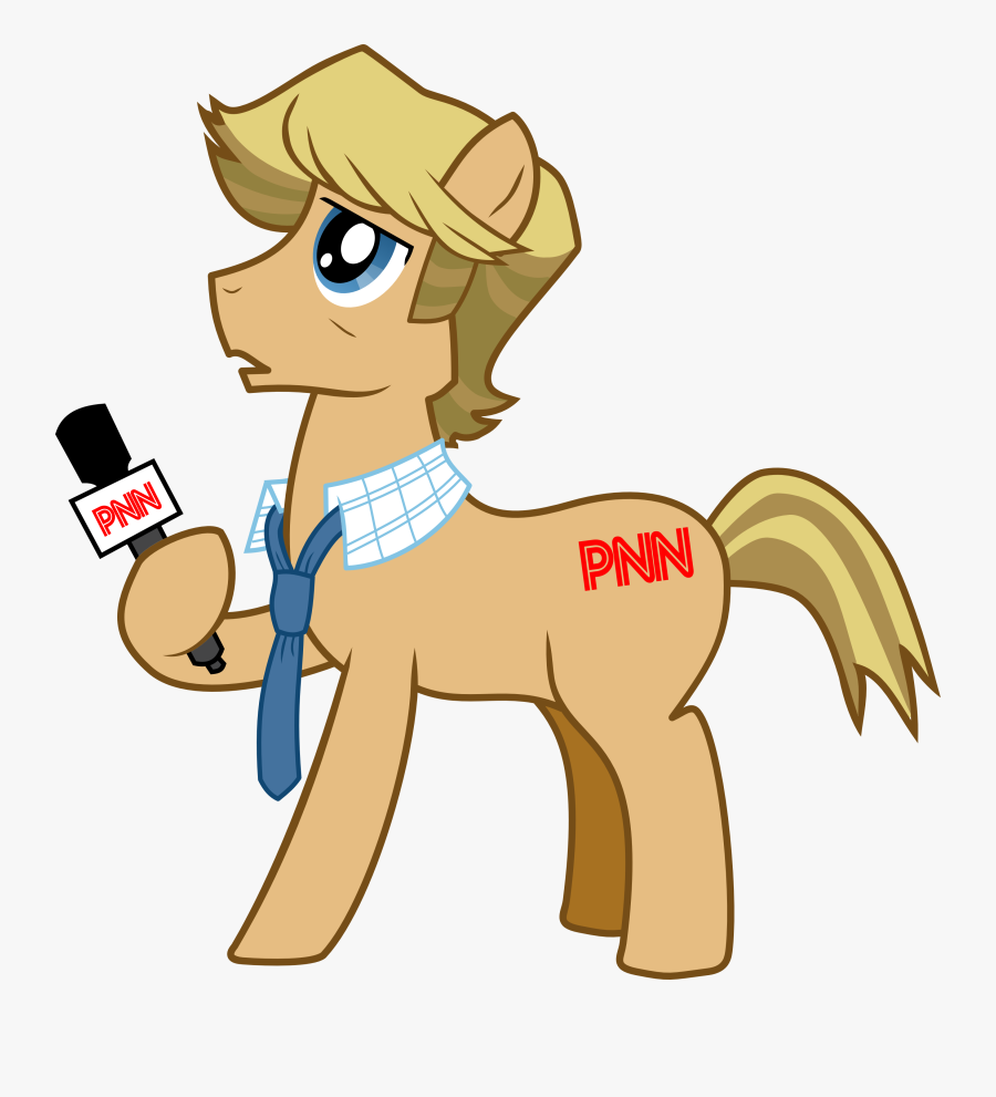 Interview Clipart Reporter Interview - My Little Pony Reporter, Transparent Clipart